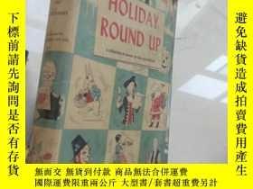 二手書博民逛書店Holiday罕見Round Up【16開精裝 英文原版】(假日