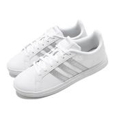 adidas 休閒鞋 Courtpoint 白 銀 女鞋 基本款 小白鞋 運動鞋 【ACS】 FW7376