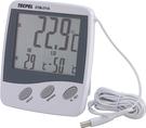 泰菱電子◆兩用顯示室內與室外溫度計DTM-311A TECPEL