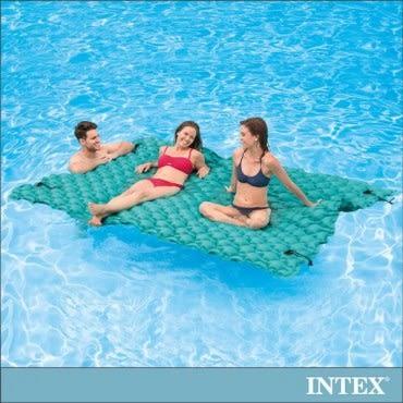 【INTEX】漂浮水陸兩用超大型充氣床墊(290x213cm)(56841)