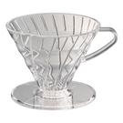 金時代書香咖啡  AMOUR V02壓克力咖啡濾器組附滴水盤量匙濾紙   AMG5337