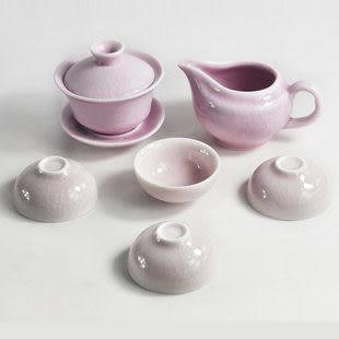 汝瓷茶具套裝 冰裂開片