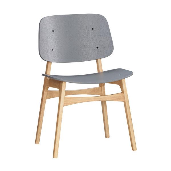 【森可家居】瑪瑟餐椅 7JX246-1 北歐風