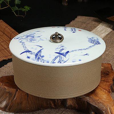 儲物罐老岩泥仿古陶瓷特價(圖一)2
