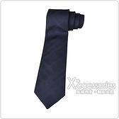 Burberry MANSTON.H 格紋編織絲綢領帶 (海軍藍)