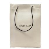 BALENCIAGA 巴黎世家 白色牛皮購物袋造型大方包 Shopping Bag North South M BRANDOFF