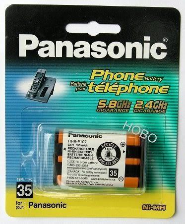 原廠 國際牌 Panasonic 無線電話系列電池HHR-P107 3.6V 650mA