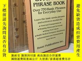 二手書博民逛書店Easy罕見Spanish Phrase Book: Over