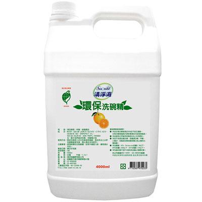 【奇奇文具】清淨海 Sea mild 1加侖 環保洗碗精(1箱4桶)