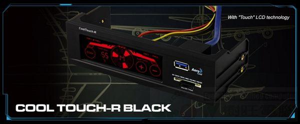 [地瓜球@] Aerocool Cool Touch-R 5.25吋 觸控式 風扇控制器~內建讀卡機