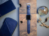 Alto Apple Watch 皮革錶帶 42/44mm - 海軍藍