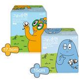 韓國 Barbapapa 泡泡先生衛生棉 17.5/15cm-20入/包 護墊 ◆86小舖 ◆