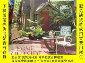 二手書博民逛書店Home罕見Outside: Creating the Land