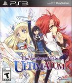 PS3 The Awakened Fate Ultimatum 神明與命運覺醒的交叉論題(美版代購)