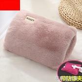 充電式熱水袋煖寶寶可愛注水防爆毛絨女暖水袋冬季電暖手寶