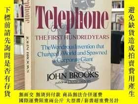 二手書博民逛書店TELEPHONE罕見the first hundred yearsY163 如圖 如圖 出版1976