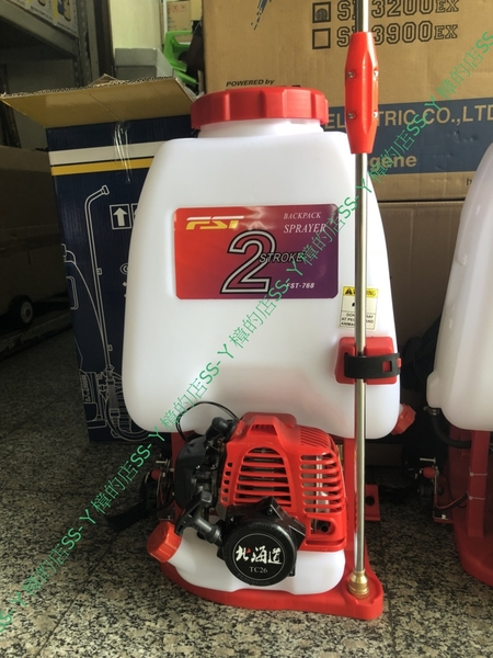 25L 背負式 引擎 高壓噴霧機 噴霧桶 農藥桶 北海道TC26引擎 FST 富士特