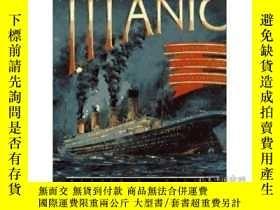 二手書博民逛書店The罕見Titanic the extraordinary s
