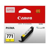 CANON CLI-771 Y 原廠黃色墨水匣 適用MG5770 MG6870 MG7770