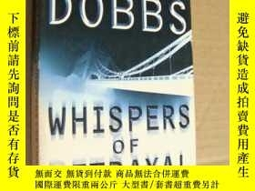 二手書博民逛書店英文原版罕見邁克爾·多布斯(紙牌屋作者力作) Whispers
