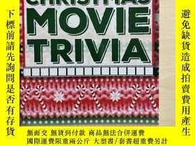 二手書博民逛書店Christmas罕見Movie Trivia 聖誕電影故事 數