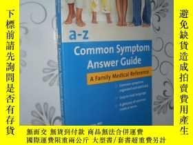 二手書博民逛書店a-z罕見Common Symptom Answer Guide