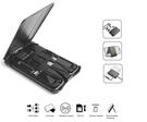 多功能旅行生存卡多合一數據線超薄卡片無線充SIM卡存儲工具套裝