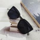 韓版方形小框男士開車墨鏡潮流時尚復古街拍風防紫外線太陽眼鏡女 糖糖女屋