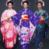 優惠兩天日式新款淑女氣質日本櫻花和服正裝時尚演出服浴衣民族睡衣cos