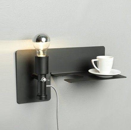 設計師美術精品館宜家創意個性臥室床頭sunday lamp星期日壁燈