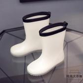 超輕兒童雨鞋男女童四季雨靴寶寶中小童防滑膠鞋【時尚大衣櫥】