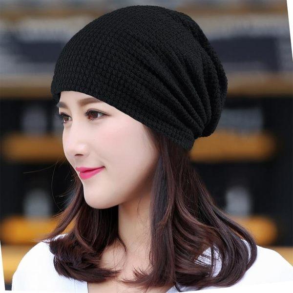 售完即止-帽子女薄款化療帽女套頭帽透氣包頭帽頭巾帽月子帽光頭堆堆帽3-8(庫存清出T)