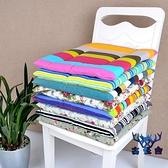 全棉印花帆布坐墊凳子椅墊辦公室沙發座墊【古怪舍】