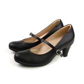 HUMAN PEACE 瑪莉珍 高跟鞋 皮質 黑色 女鞋 21126 no269