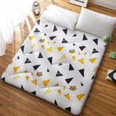 印花床墊1.8m床褥加厚雙人榻榻米墊子1.5m墊被單人學生宿舍