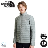 【The North Face 男 700FP 防潑水輕羽絨保暖外套《灰》】4NG4/保暖外套/夾克/休閒外套