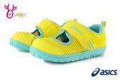 ASICS亞瑟士童鞋 寶寶鞋 學步鞋 護趾涼鞋 寶寶運動鞋 女童鞋 男童涼鞋 A9148#黃色◆OSOME奧森鞋業