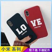 IG韓風英文 紅米Note5 紅米Note4 紅米Note4x 情侶手機殼 字母LOVE 氣囊伸縮 影片支架