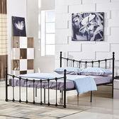 床架 簡約公寓出租房鐵藝雙人鐵床架1.5結實穩固單人床1.2m床架1.8米JD 傾城小鋪