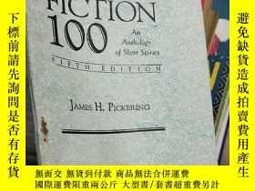 二手書博民逛書店FICTION罕見100(短篇小說入門-《小說100篇》)Y17