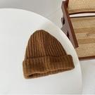 帽子特大號日系毛線帽女秋冬季百搭韓版針織帽保暖護耳堆堆帽潮 格蘭小鋪