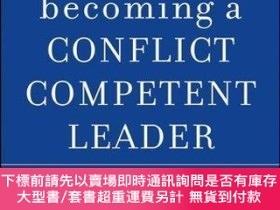 二手書博民逛書店Becoming罕見A Conflict Competent LeaderY255174 Craig E. R