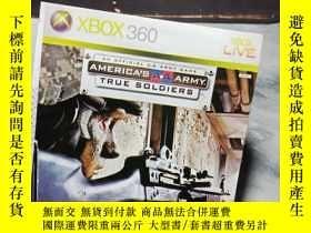 二手書博民逛書店遊戲光盤罕見XBOX 360 TRUE SOLDIERS ( 光