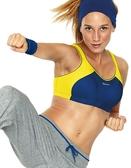 防震背心式高強度專業健身運動胸內衣無鋼圈大碼大罩杯跑步    胸罩-My0022