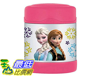 [105美國直購] 兒童保溫水壺 Thermos Funtainer 10 Ounce Food Jar Frozen Pink F3004FZ6AMZ