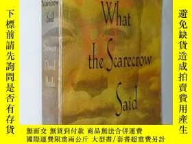 二手書博民逛書店What罕見the Scarecrow Said5919 見圖