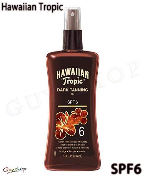 【SPF6】Hawaiian Tropic 古銅黝黑助曬油 236ml