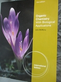 【書寶 書T9 /大學理工醫_YHO 】Organic chemistry with biological applica