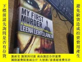 二手書博民逛書店MY罕見FIRST MURDER 女警探瑪麗亞系列第一謀殺Y160831