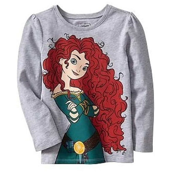 女童長袖上衣 T恤衣服 灰公主 | Old Navy童裝 (兒童/小孩/小朋友/幼童/小童/孩童/寶寶)